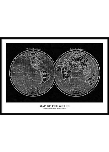 MAP OF THE WORLD JULISTE